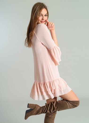 Volanlı Elbise-Agenda